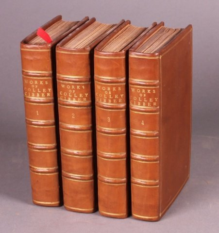 The Dramatick Works of Colley Cibber, Esq. 4 Vols.