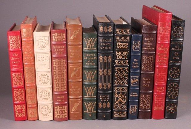 11 Books, Easton Press: American authors.