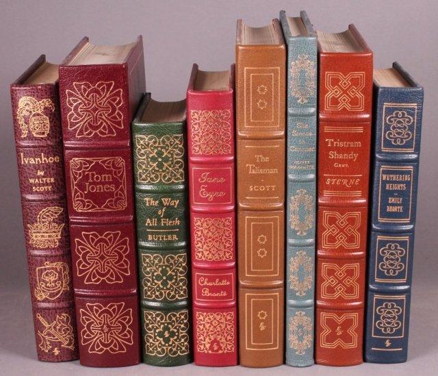 8 Books: Easton Press, incl: IVANHOE.