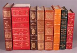 8 Titles: Easton Press. Dickens, G. Eliot, Austen.
