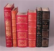 6 Books: Easton Press. Tolstoy, Dostoevsky, others
