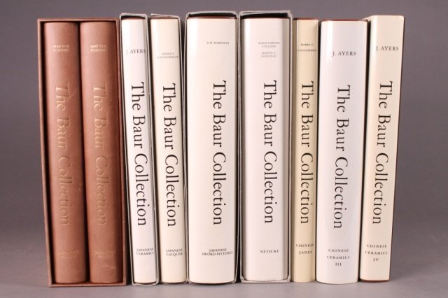 """7 Books (9 vols) from: """"The Bauer Collection."""""""