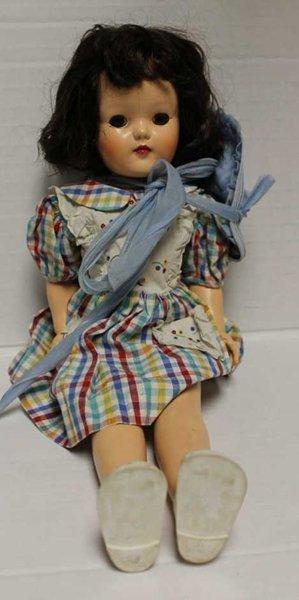 Hard Plastic Ideal Toni doll. Introduced in 1949. Marke