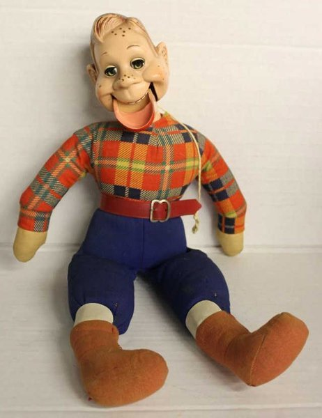 """Ideal Howdy Doody doll. Marked """"Ideal Doll"""" on back of"""