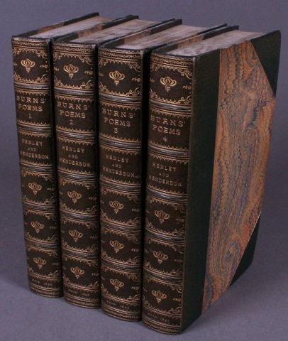 The Poetry Of Robert Burns. 4 Vols 1896-97. 1/600.