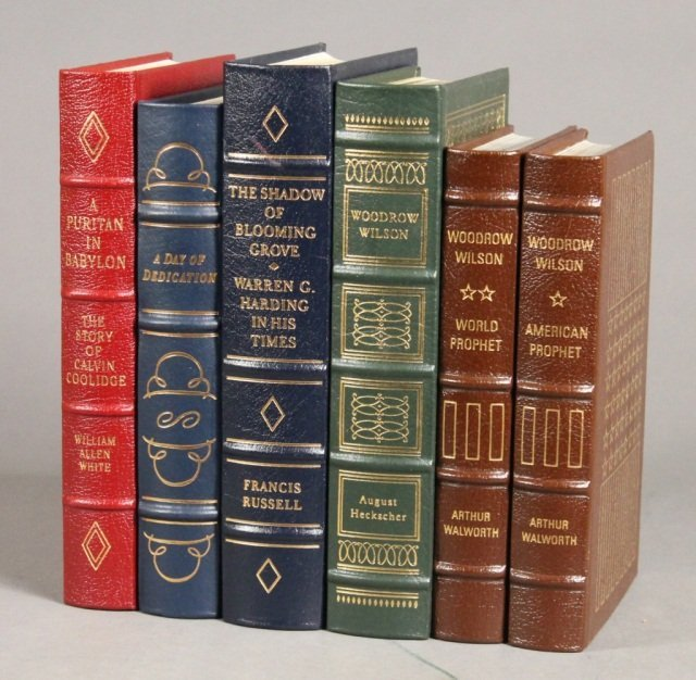 5 Books (6 Vols): Easton Press. Wilson - Coolidge.