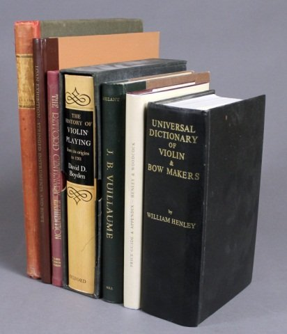 7 Vols incl: UNIVERSAL DICTIONARY OF VIOLIN...