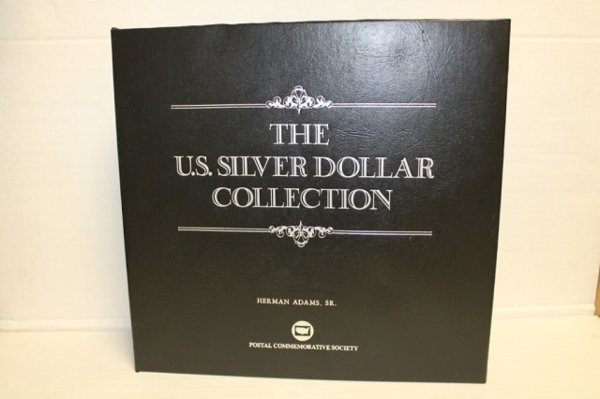 Collection of US silver dollars 1878-1935.