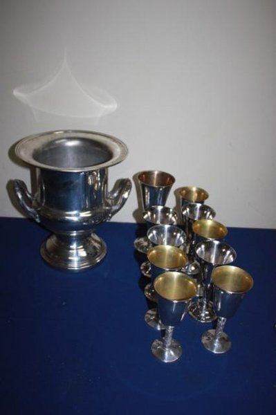 Lot of silver plate including