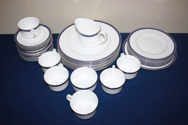 Partial set of Royal Worcester fine china