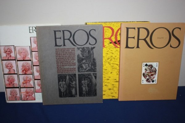 Lot of EROS books from 1960's