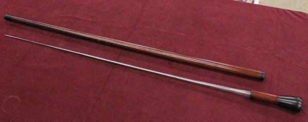 German cane sword.