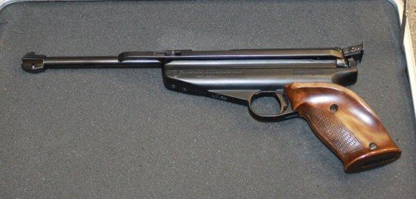 Feinwerkbau Model 65 target grade pellet pistol.