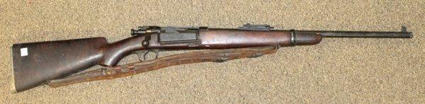 US Springfield Armory gun model 1898.