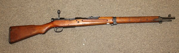 WWII Japanese Arisaka Type 99 rifle.