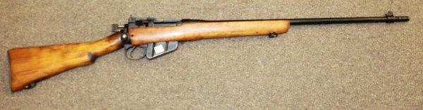 English Enfield MK 2 .303 caliber rifle.