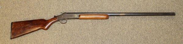 1940 Bay State 12 gauge shotgun.