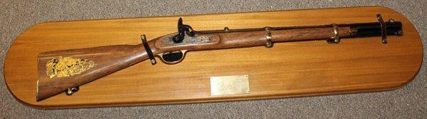 Replica Confederate Cook & Bro. percussion carbine