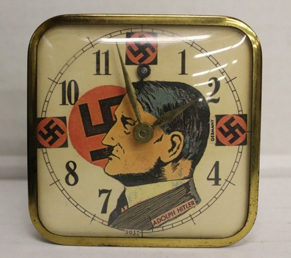 WWII-era Adolf Hitler alarm clock.