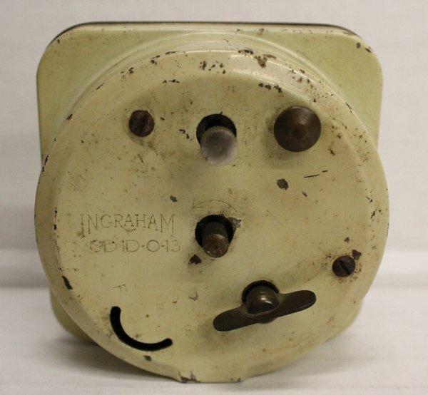 WWII-era Adolf Hitler alarm clock. - 2