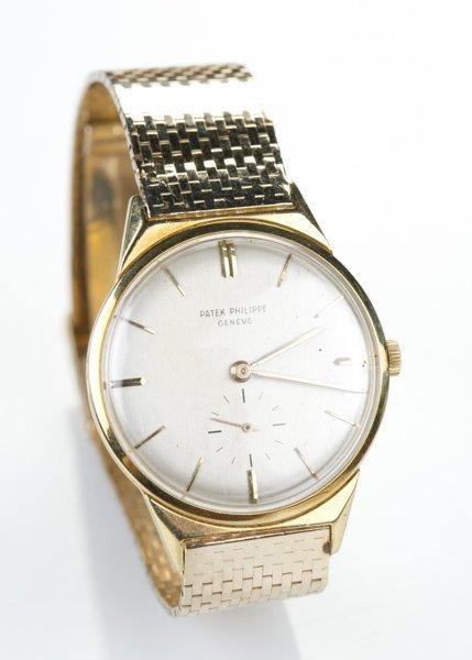 A Patek Philippe Geneve gold men's watch
