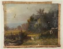 Julie Hart Beers, 19th c. landscape