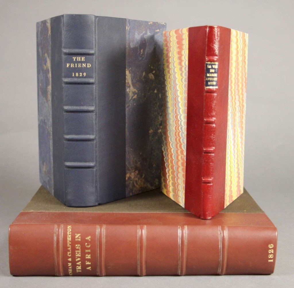 3 Books incl: Denham, et. al. NARRATIVE... AFRICA.