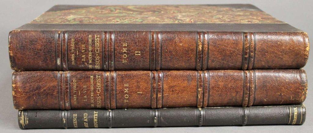 3 Vols incl: LA VIE DE NOTRE SEIGNEUR... 2 Vols.