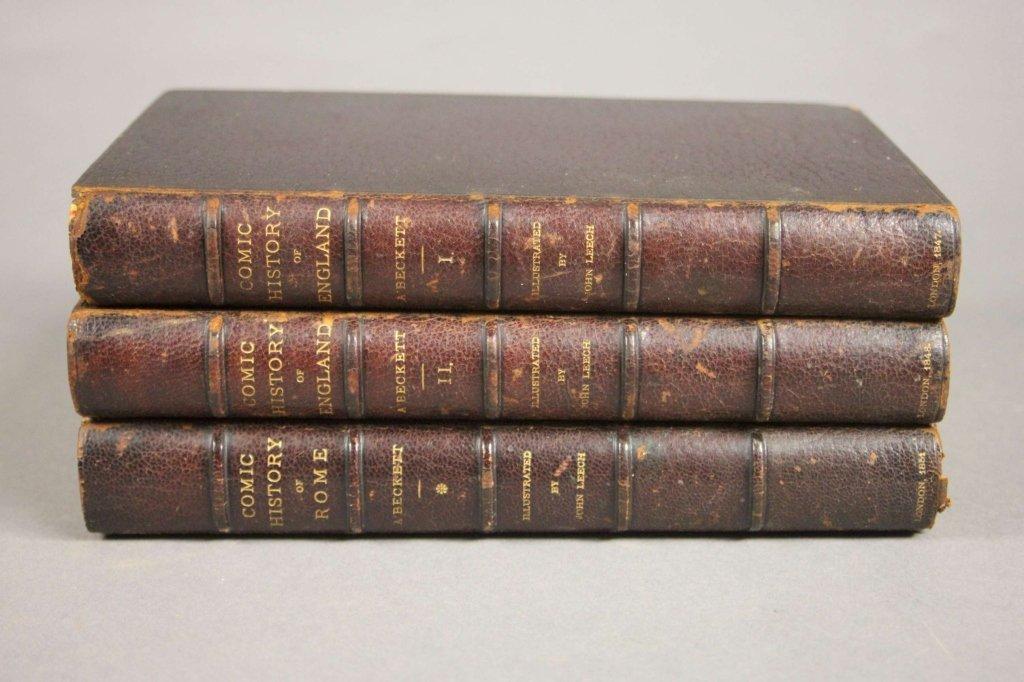 3 Vols illustrated by John Leech, 1847-[1851].