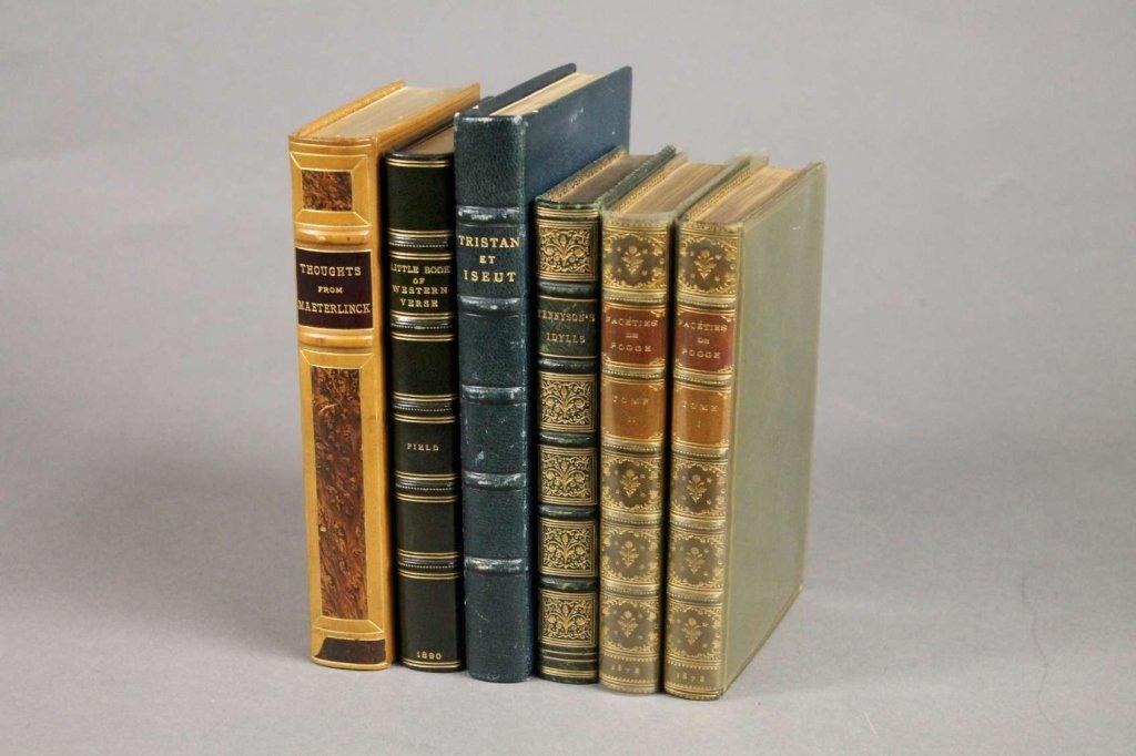 5 Books (6 Vols): Tennyson, Maeterlinck, others.