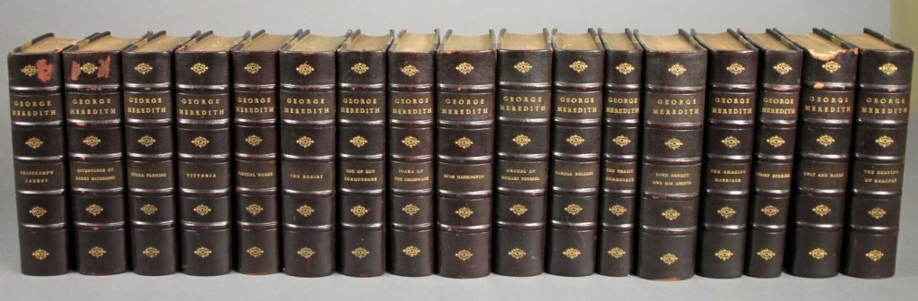George Meredith. THE WORKS. 17 Vols. 1910-20.