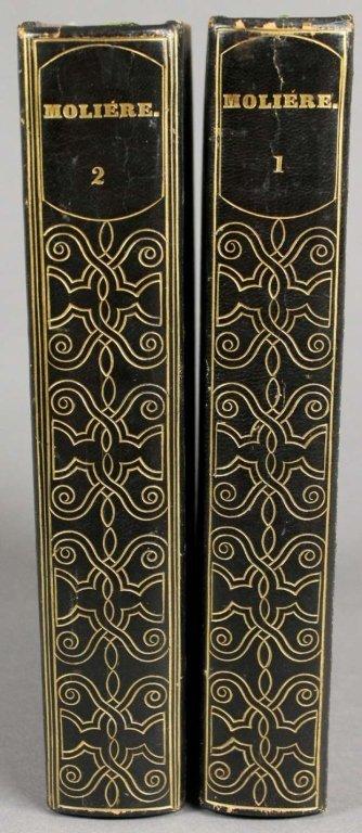 Moliere. OEUVRES. 2 Vols. Paris: 1835-1836.
