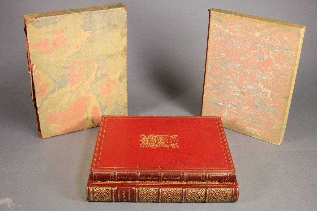 2 Books: ESPANA (NORTE Y LEVANTE) + PIUS XI...