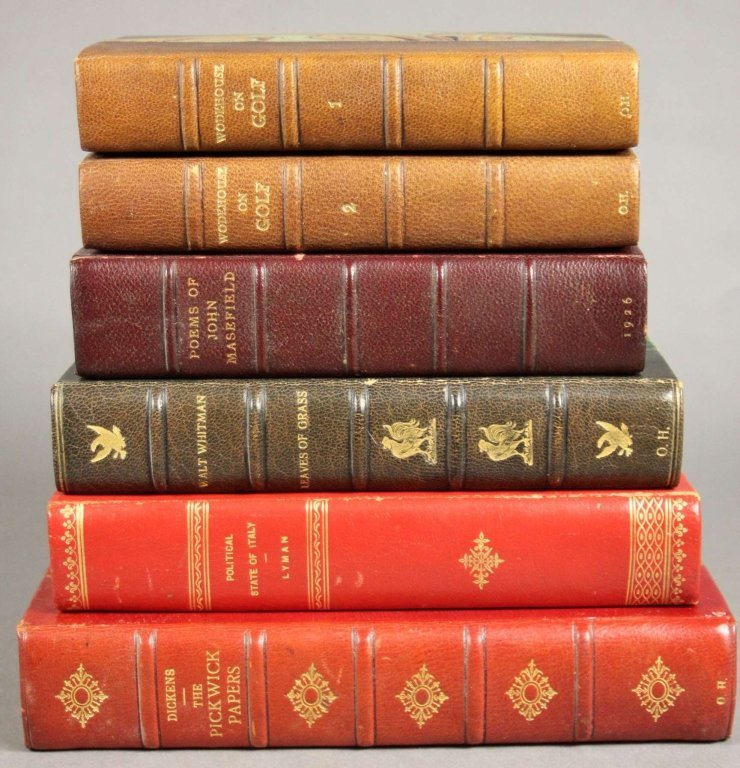 6 Books incl: PICKWICK PAPERS, 5 others.