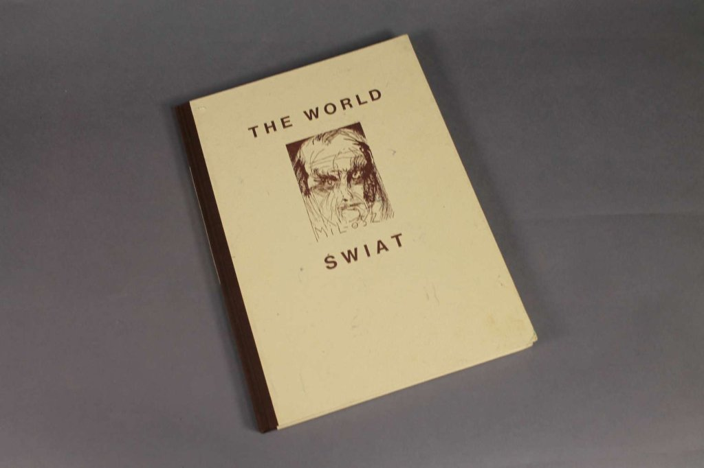 Milosz, Jim Dine. SWAIT/ THE WORLD.
