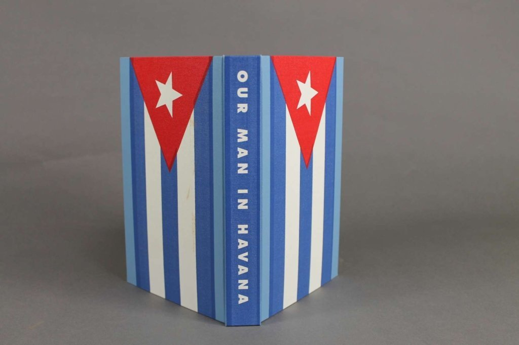 OUR MAN IN HAVANA. Arion Press, 2010. #86 of 300.