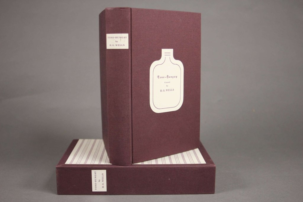 H. G. Wells. TONO-BUNGAY. Arion Press. #17/300