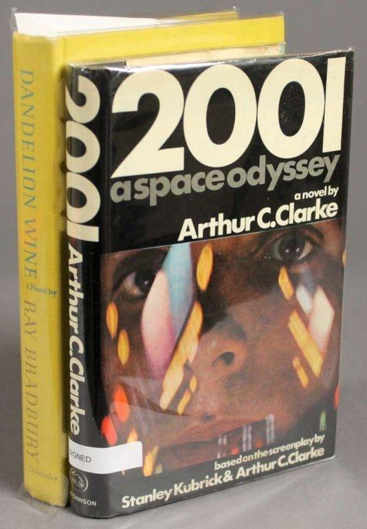 2 Books: Clarke, 2001 + Bradbury, DANDELION WINE.