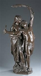 After Eugene Marioton, bronze Gloria Patria