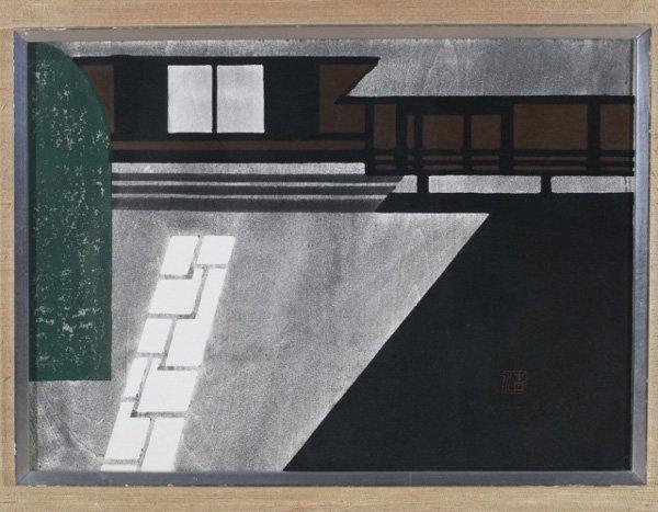 Kiyoshi Saito, Japanese woodblock print