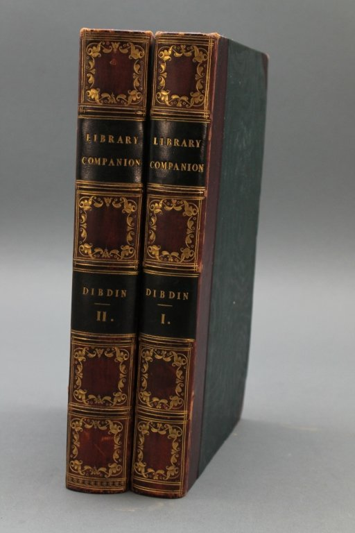 Dibdin. THE LIBRARY COMPANION. 2 Vols. 1824.