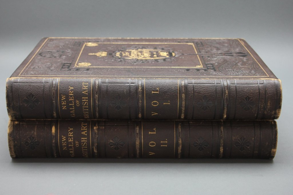 The New Gallery of British Art. 2 Vols. [ca. 1880]
