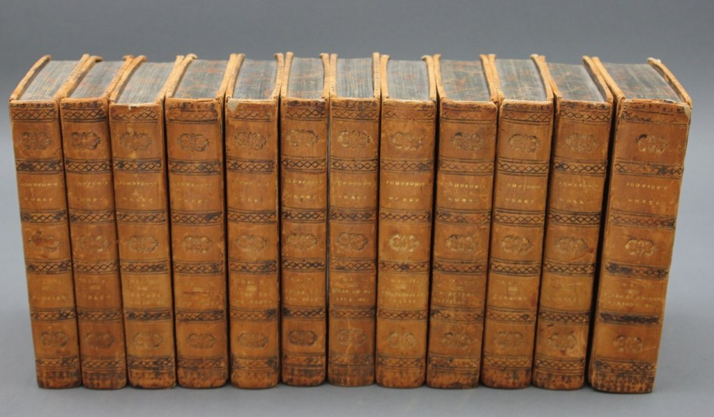 Samuel Johnson. WORKS. 12 Vols. 1816.