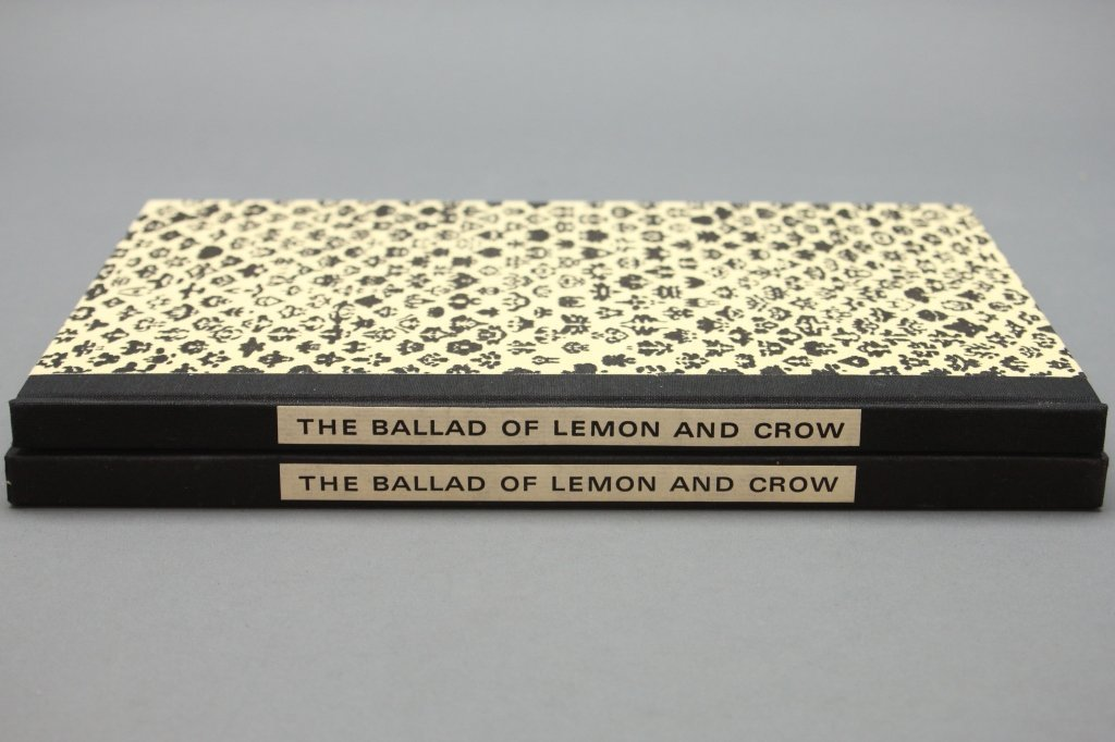 THE BALLAD OF LEMON & CROW. #193 of 360 signed.