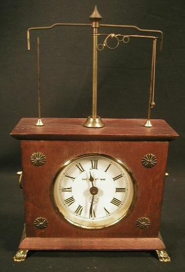 11: Ignatz flying pendulum clock reproduction