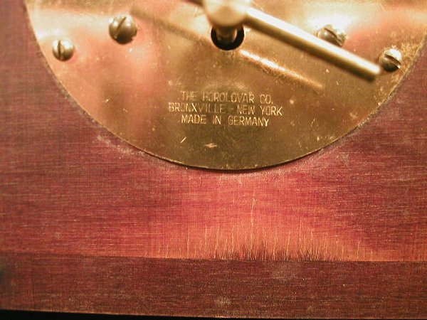 11: Ignatz flying pendulum clock reproduction - 3