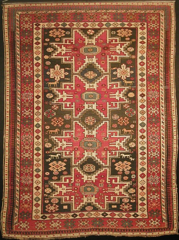 16: Russian Shirvan hand knotted carpet secon
