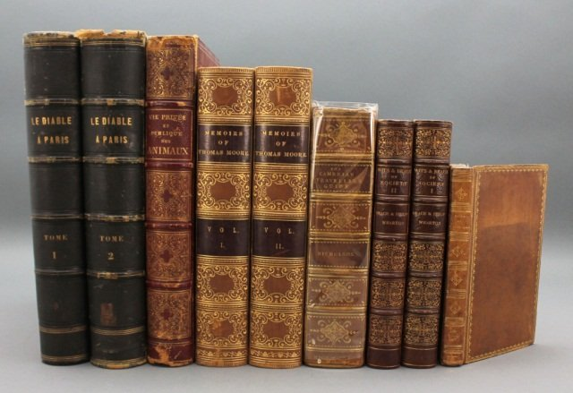 9 Vols incl: THE CAMBRIAN TRAVELLER'S GUIDE… 1813.