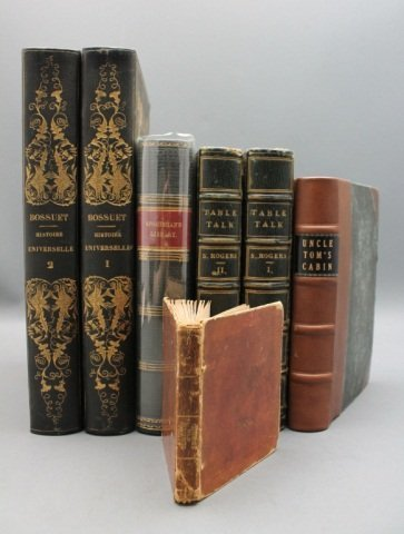 7 Vols incl: UNCLE TOM'S CABIN, Cruikshank illus.