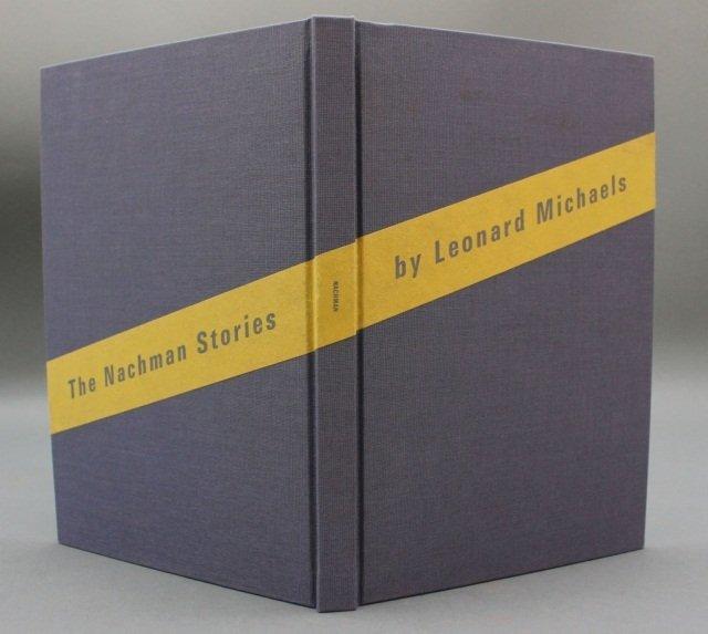 THE NACHMAN STORIES. Arion Pr., (2009) #145/300.